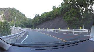 岡山県道34号笠岡井原線、蛸村峠、R313-笠岡IC 車載動画