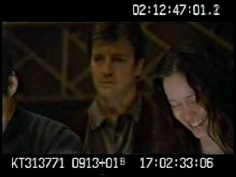 Firefly Nathan Fillion makes fun during shooting