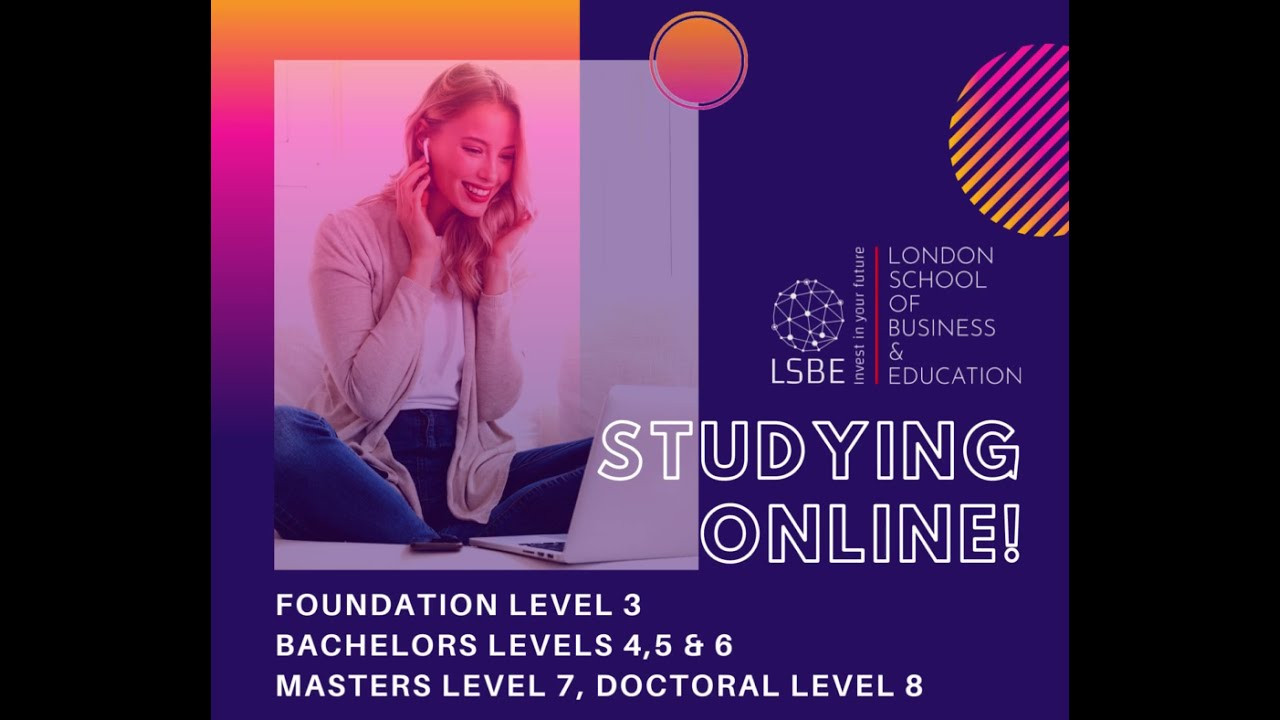 Studying online with lsbe!
