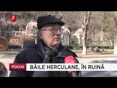 Băile Herculane, în ruină