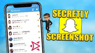 (2019) SECRETLY SCREENSHOT ON SNAPCHAT! | STORIES/SNAPS/CHATS/CODES | WORKS WITH IPHONE X AND ALL!