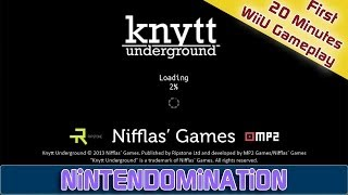 WiiU - Knytt Underground - First 20 Minutes Gameplay
