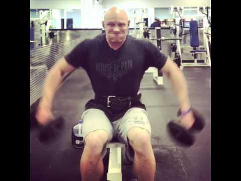 Shoulder training: Warmup