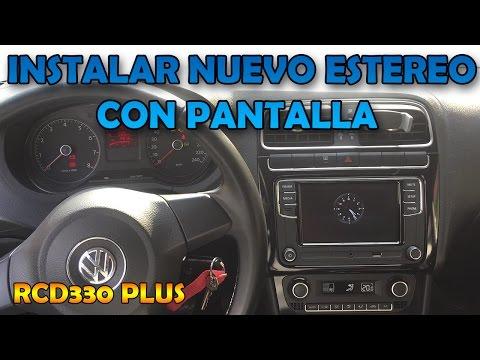 Instalar estéreo con pantalla en VW Vento/Polo - Arnes Canbus