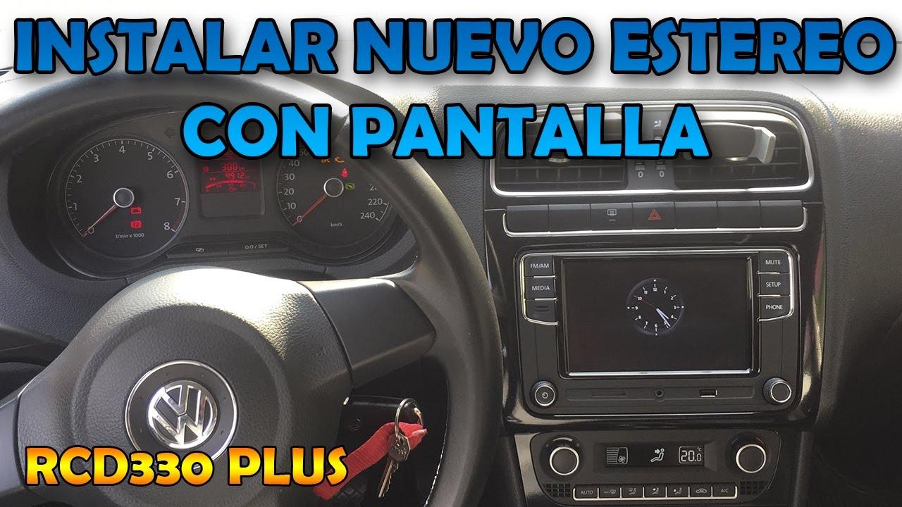 2017 Vw Jetta >> Instalar estéreo con pantalla en VW Vento/Polo - Arnes Canbus - YouTube