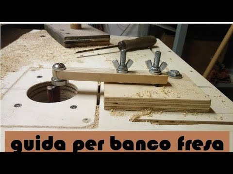 Guida copiare a cuscinetto per banco fresa youtube for Banco fresa kreg