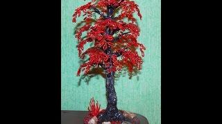 Вдохновлялочка. Деревья из бисера. Trees from beads