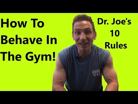 Gym Etiquette 10 Rules