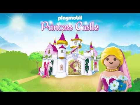 Playmobil Princess Castle App Trailer Youtube