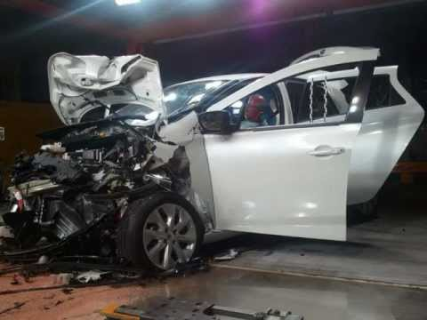Renault Zoe crash-test