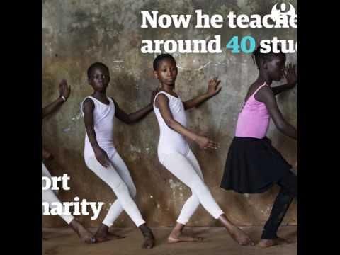 Ballet school In Kibera (Nairobi)