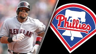 Carlos Santana Signs 3-Year Deal w/ Philadelphia Phillies!
