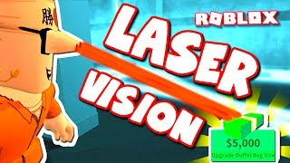 HOW TO GET LASER VISION IN ROBLOX JAILBREAK!!!