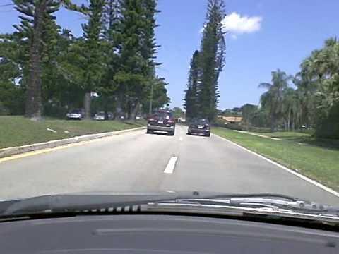 Driving in Pembroke Pines, Florida