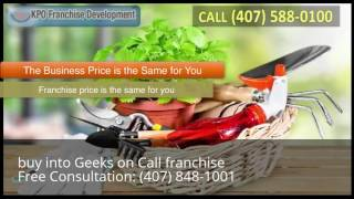 buy into Geeks on Call franchise
