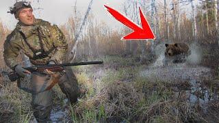 ВОЛОСЫ ВСТАЛИ ДЫБОМ ОТ ТАКОЙ ОХОТЫ! ещё и ружье подвело ... Весенняя охота 2019