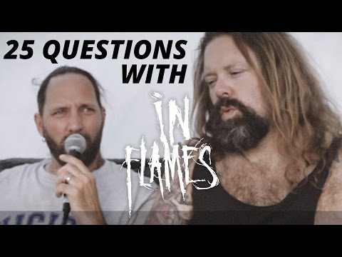 25 Questions with In Flames