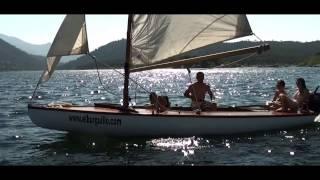 paseo en velero por el Burguillo