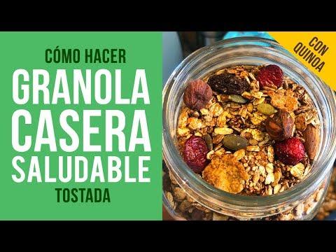 Cómo hacer Granola Casera