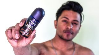 HONEST REVIEW Nivea Men Deep Impact Energy RollON Review Is this the Best RollON for Men