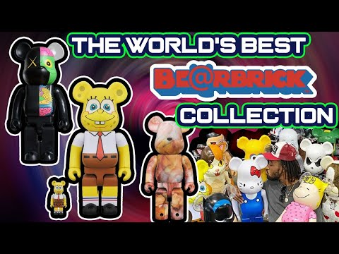 HOW TO BUY THE WORLD'S BEST BEARBRICK COLLECTION! Close To $100,000 Value!!!