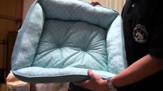トイプードル用に夏向けの涼感吸汗速乾素材のベッド(マーベラスクール...