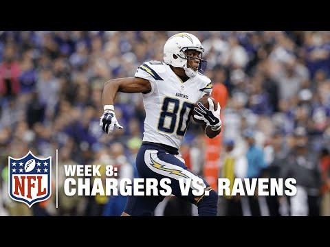 Philip Rivers Hits Malcom Floyd for a 71-Yard TD! | Chargers vs. Ravens | NFL