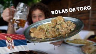 Probando comida callejera en SERBIA 🇷🇸🍛