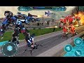 Air Force Fighter Jet Robot Transformation Games (By Roadster Inc) Android Gameplay HD