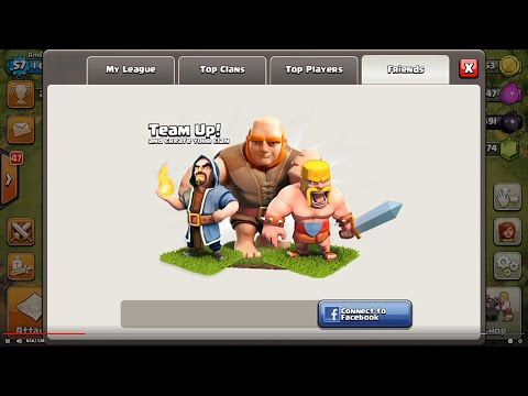 Clash of clans-Facebook connection error fix!