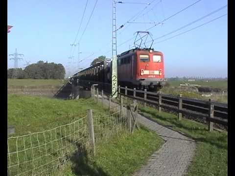 Züge Südlich von Leer 2010