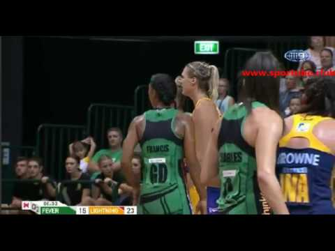 Netball Suncorp Super-West Coast Fever W vs.Sunshine Coast Lightning W-AUSTRALIA & OCEANIA Netball