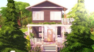 Base Game Only Tiny House || The Sims 4: Speed Build