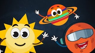 The Planet Song ☀ ☽ 🌎 | The Solar System Song ☀ ☽ 🌎 | Planets Song for Children with Lyrics ☀ ☽ 🌎