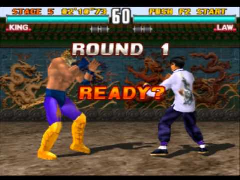 [Gameplay] Tekken 3 - King