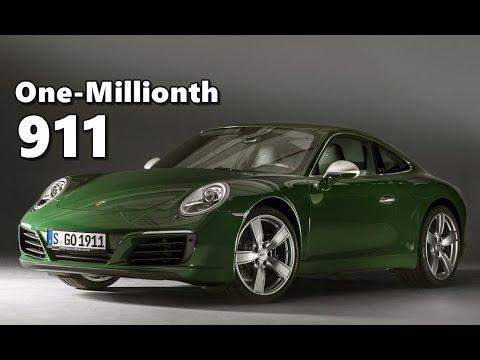 Porsche Gt2 Rs >> One-millionth Porsche 911 Produced (Irish Green) - YouTube