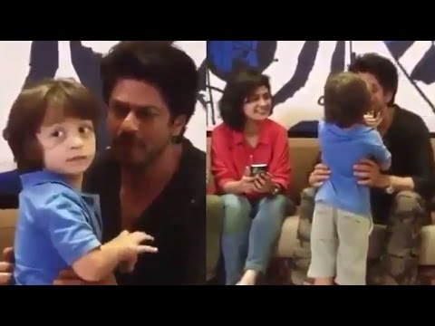 Shahrukh Khan's CUTE Video Playing With Son Abram Khan Will Melt Your Heart