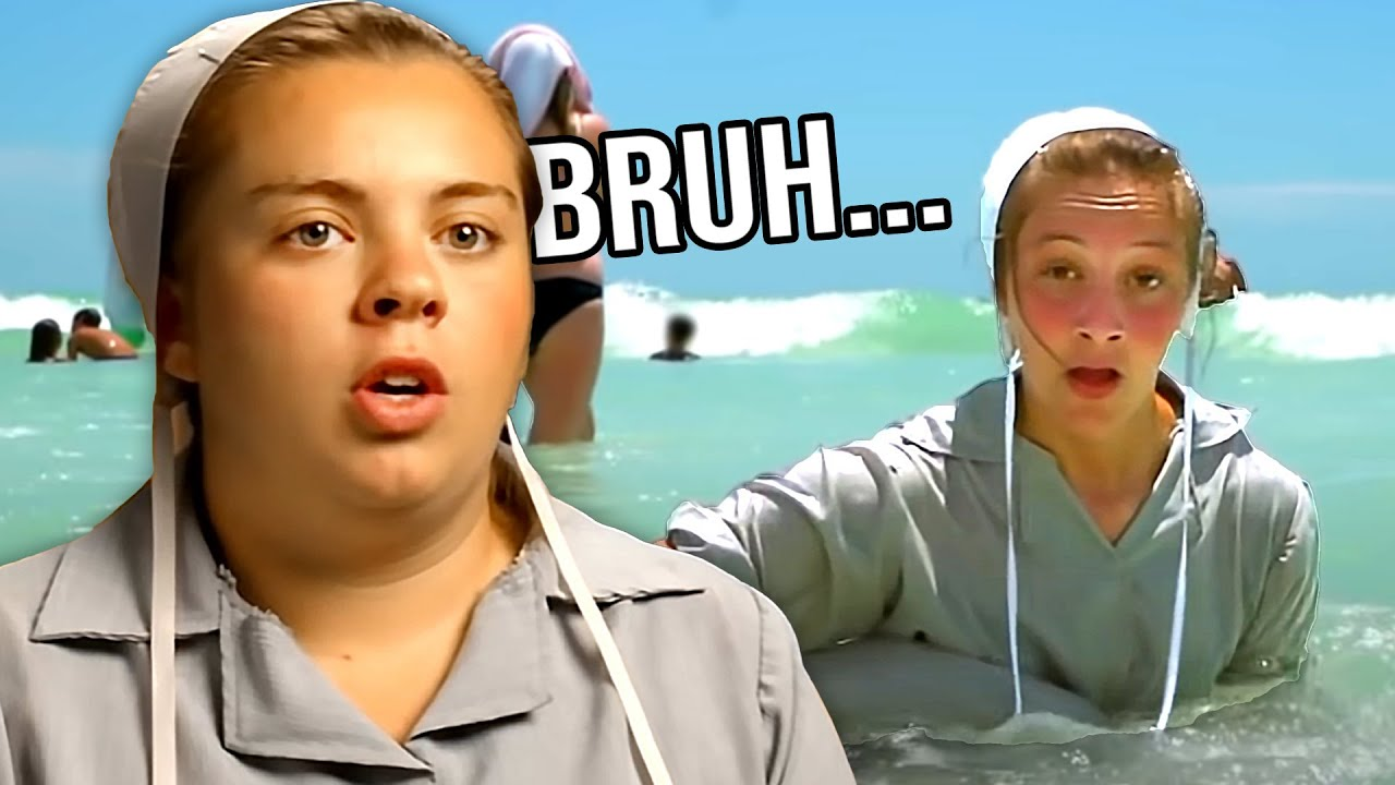 Amish Girls See The Ocean For The First Time And Almost Drown