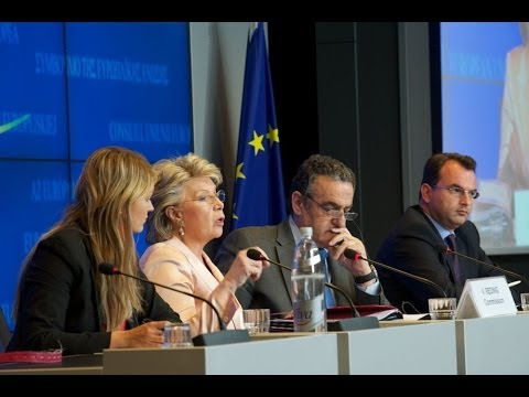 Meeting of the JHA Council, Day 2, Luxembourg, 06.06.2014, Press Conference