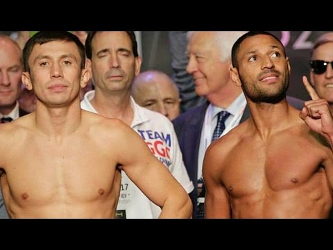 GOLOVKIN VS BROOK WEIGH IN RESULTS! GGG 158.8LBS KELL 159.4LBS! GGG SICK? DRAINED? ROOTING FOR KELL!