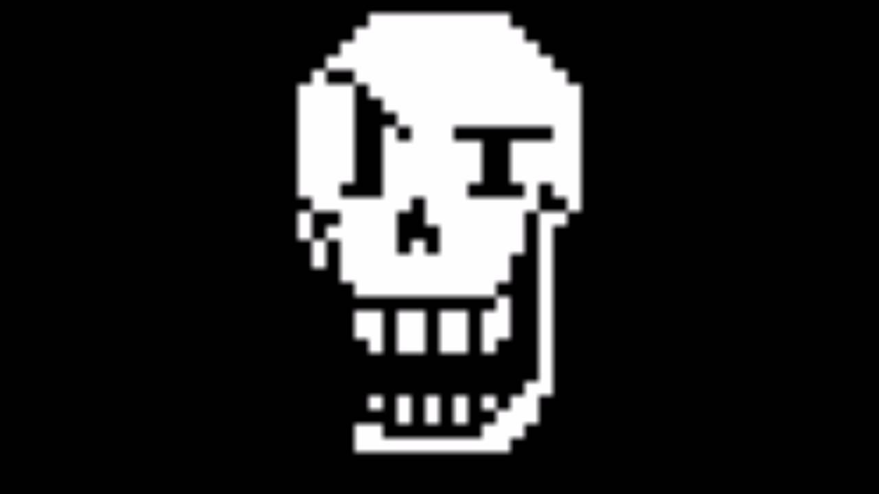 Face Papyrus Undertale Sprite