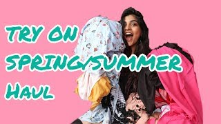 HUGE SPRING/SUMMER TRY ON HAUL|| KRITIKA KHURANA