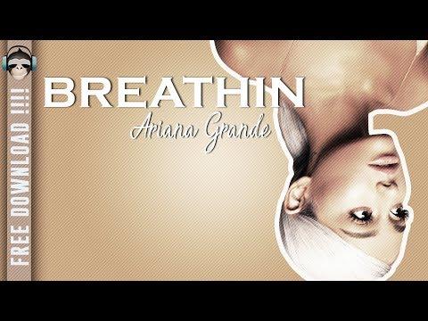 BREATHIN (Ariana Grande) FREE INSTRUMENTAL- Karaoke and lyrics (Album Sweetener 2018)