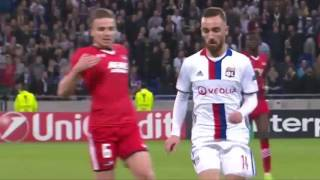Лион 7:1 АЗ Алкмар | Лига Европы УЕФА 2016/17 | 1/16 финала |Обзор матча 23.02.2017 [HD]