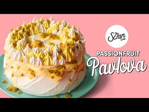 How To Make A Passionfruit Pavlova - The Scran Line