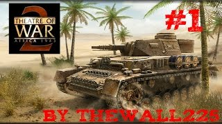Theatre of War 2 Africa 1943 Gamplay HD ITA #1 - Divisione Centauro