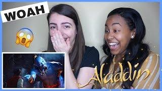Disney's Aladdin Official Trailer (REACTION)