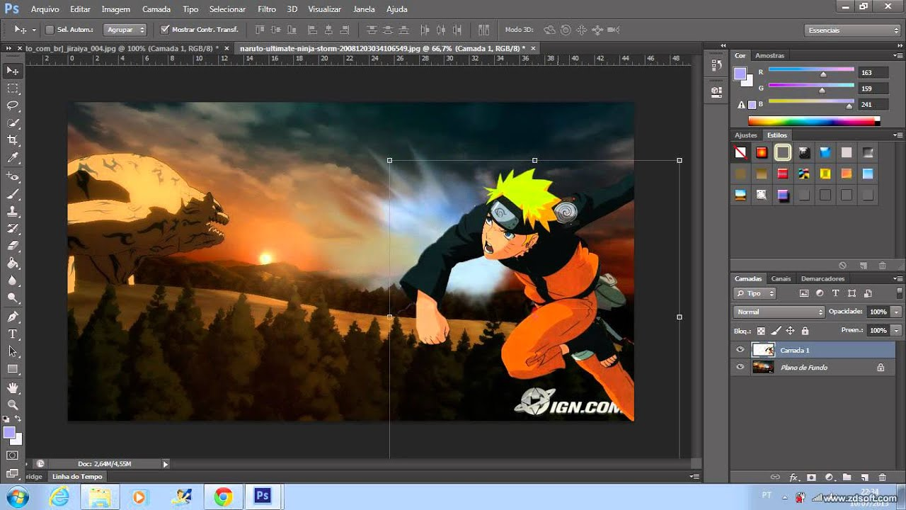 Alternative Photoshop Online novo editor gratuito