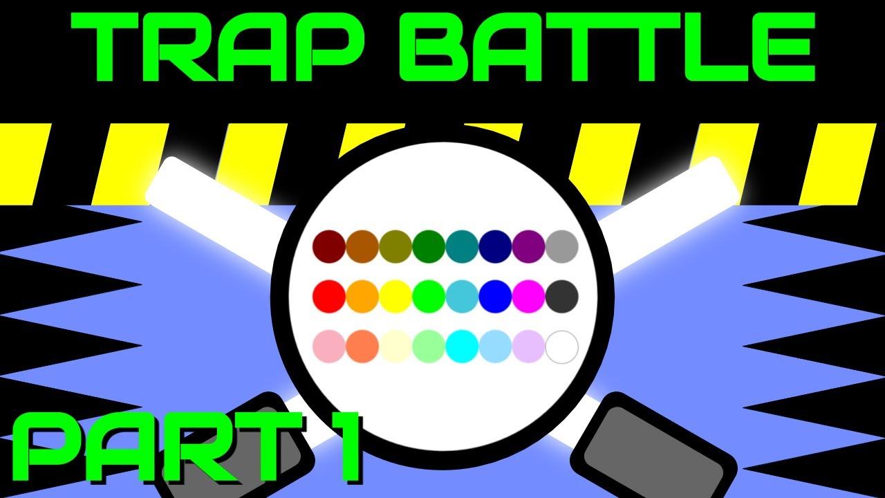 24 Marble Race Battle : Trap Battle PART 1 (by Algodoo)