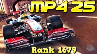 SHORT & TWISTY KING! McLaren Mercedes MP4-25 (Rank 1679) Multiplayer in Asphalt 8